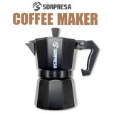 SORPRESA 本格コーヒーメーカー(直火式) ブラック【KiNiNaRu/きになる】キャラクターグッズ 通販