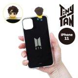 BTS フィギュアミラーiPhoneケース(J-HOPE)【iPhone12/12Pro】【KiNiNaRu/きになる】公式グッズ TinyTAN キャラクターグッズ通販