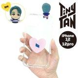BTS フィギュアクリアiPhoneケース(RM)【iPhone12/12Pro】【KiNiNaRu/きになる】公式グッズ TinyTAN  キャラクターグッズ通販