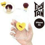 BTS フィギュアクリアiPhoneケース (SUGA)【iphone11】【KiNiNaRu/きになる】公式グッズ TinyTAN  キャラクターグッズ通販