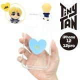 BTS フィギュアクリアiPhoneケース(JIN)【iPhone12/12Pro】【KiNiNaRu/きになる】公式グッズ TinyTAN  キャラクターグッズ通販