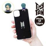 BTS フィギュアミラーiPhoneケース(RM)【iPhone12/12Pro】【KiNiNaRu/きになる】公式グッズ TinyTAN キャラクターグッズ通販