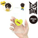 BTS フィギュアクリアiPhoneケース (J-HOPE)【iphone11】【KiNiNaRu/きになる】公式グッズ TinyTAN  キャラクターグッズ通販