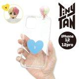 BTS フィギュアクリアiPhoneケース(V)【iPhone12/12Pro】【KiNiNaRu/きになる】公式グッズ TinyTAN  キャラクターグッズ通販