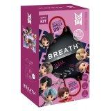 『TinyTAN』BREATH SILVER QUINTET マスク(ZenBlack) 7pcsBOX(14枚入り) ※ポーチ・ストラップ付き【KiNiNaRu/きになる】キャラクターグッズ 通販