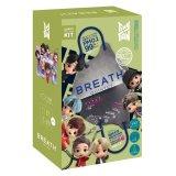 『TinyTAN』BREATH SILVER QUINTET マスク(MetalGray) 7pcsBOX(14枚入り) ※ポーチ・ストラップ付き  【KiNiNaRu/きになる】キャラクターグッズ 通販